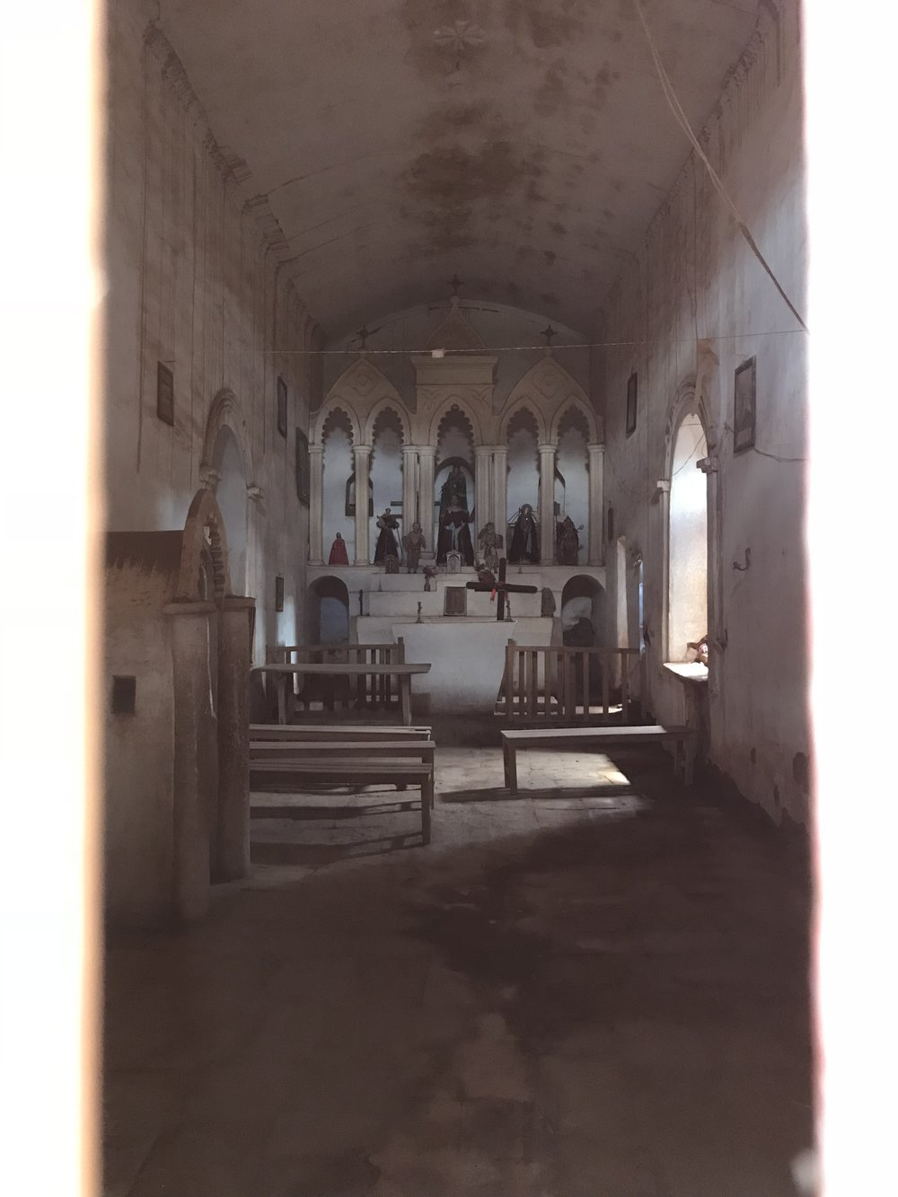 An adobe church in Tupiza