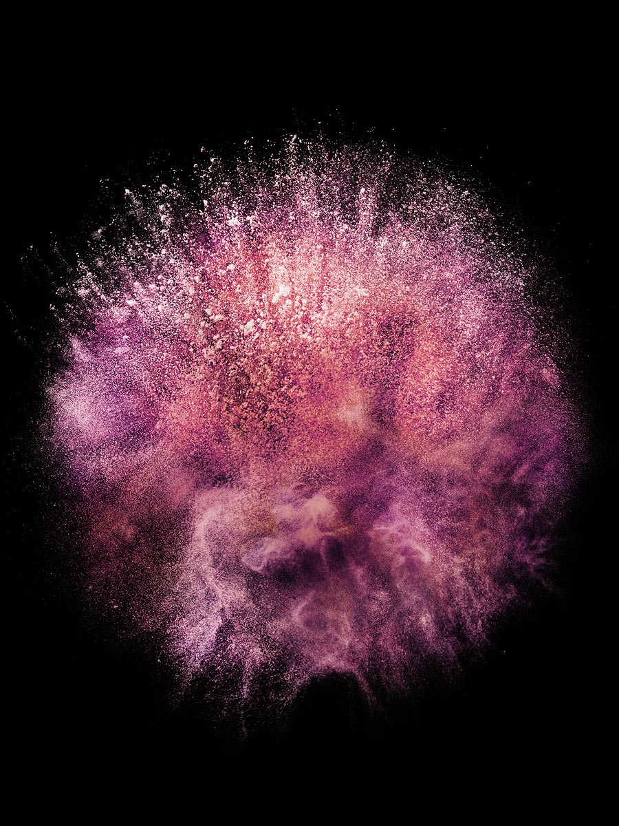 Powder Explosion Still Life Photographer Nori