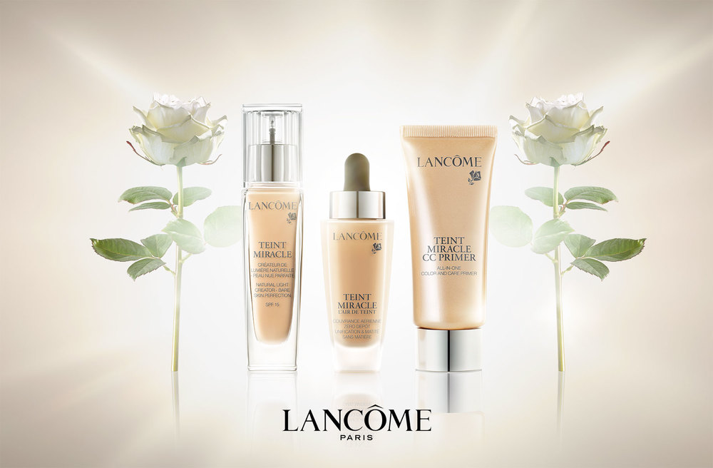 Lancome, Foundation, Cosmetics, Flower