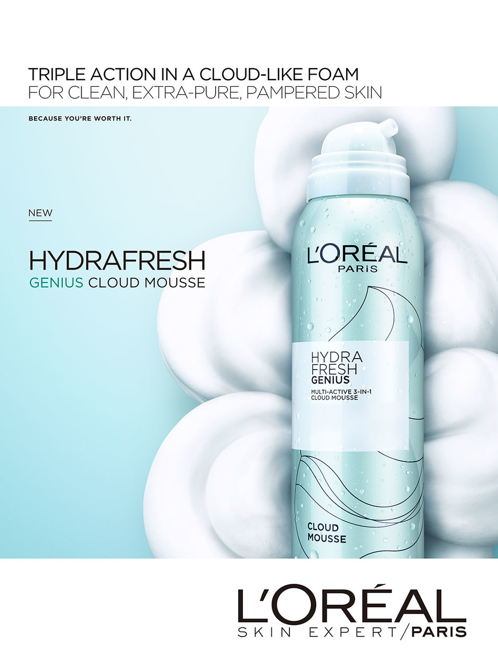 L'Oreal Hydrafresh 2016