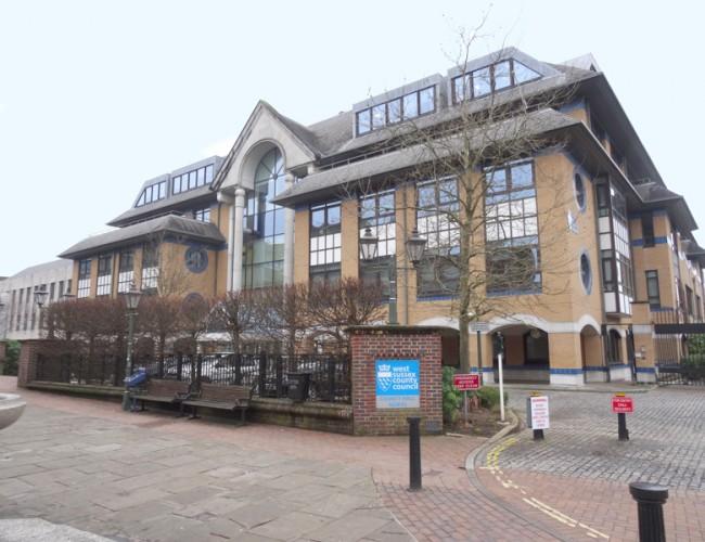 West sussex council office horsham
