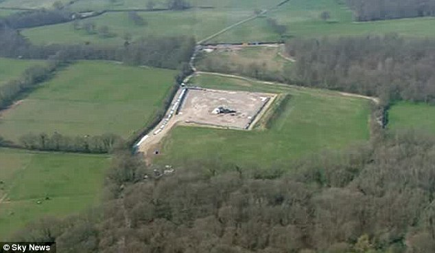 horse hill UKOG site