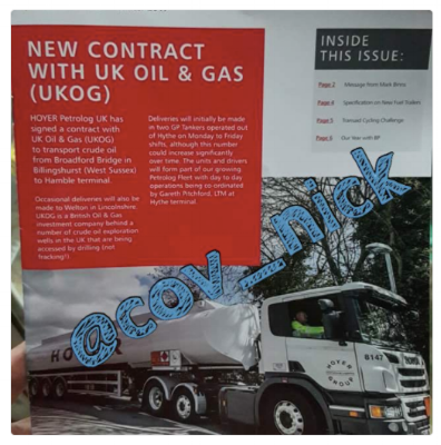 Hoyer Petrolog newsletter UKOG winter 2017