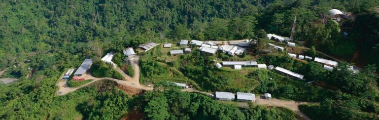 Wafi-Golfu mine Papua new Guinea