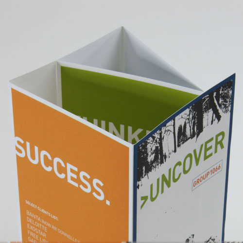 Uncover  promotional brochure