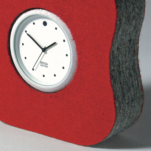 Soft shock-proof clock