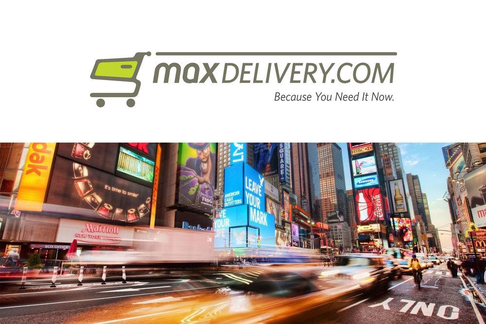 Max Delivery Logo