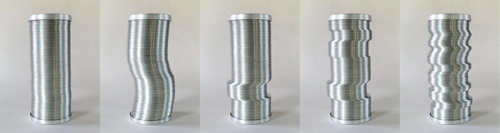 "Materials:  Anodized aluminum, galvanized steel.  Dimensions : 178 x 241 x 241mm (7"" x 9.5"" x 9.5"")"