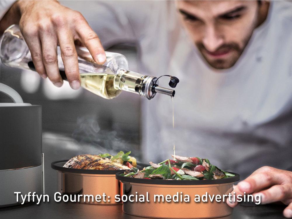 Vaya Tyffyn Gourmet Ad Campaign
