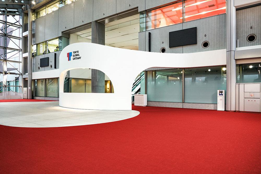 Tokyo Global Gateway TGG Lobby