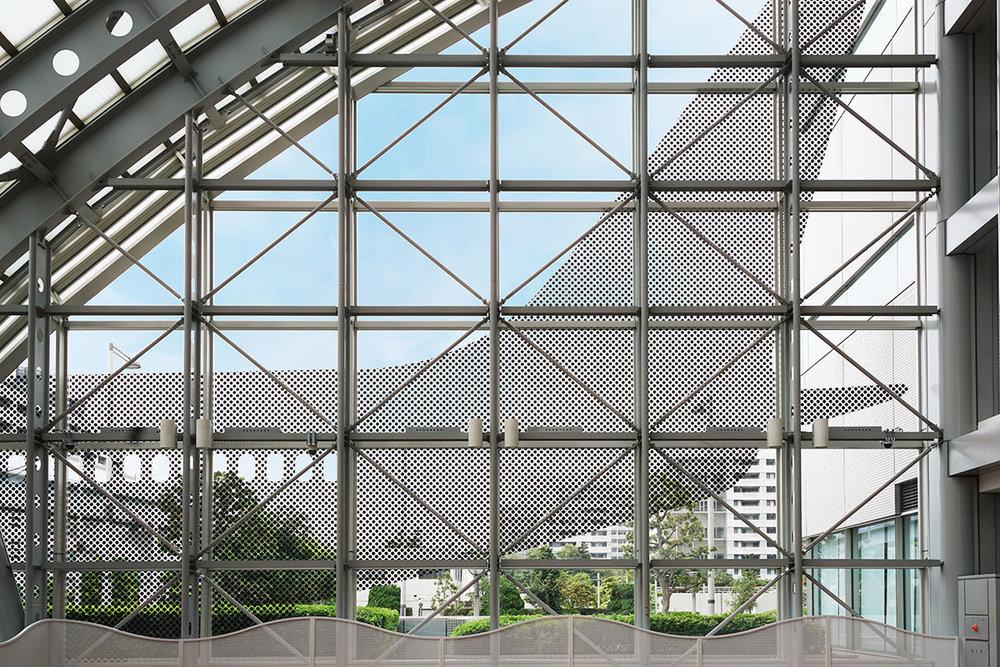 Tokyo Global Gateway Lobby Supergraphics