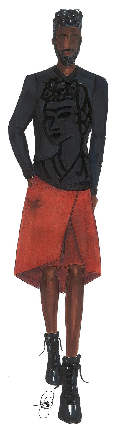 Rakeem-Cunningham-Frida-Kahlo