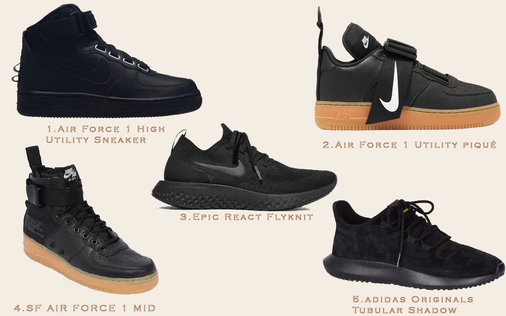 5-style-updates-2019-all-black-sneakers