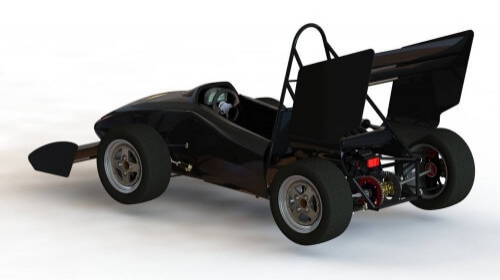 UBC Formula - Design of a F1 racing vehicle suspension and steering system
