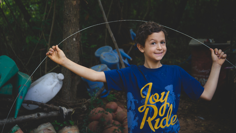 Amitai, who lives at Sadhana with his parents and two siblings. Originally from Israel, the family has been a part of the Forest for a long time now.