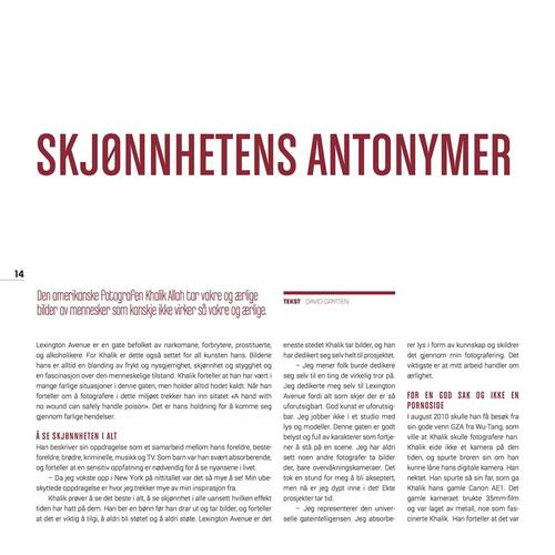 FREKVENS MAGAZINE, NORWAY PAGE 14