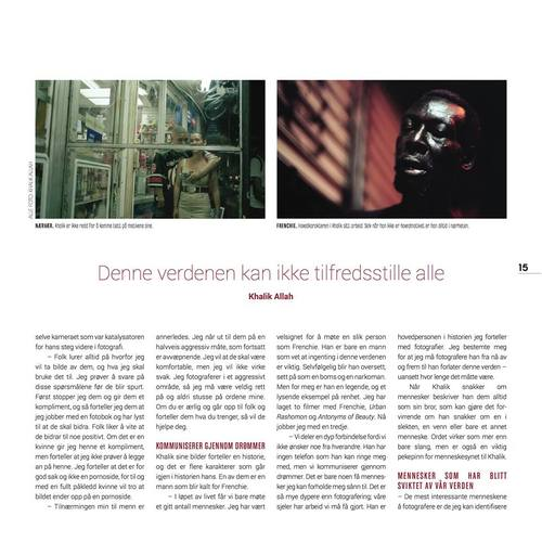 FREKVENS MAGAZINE, NORWAY PAGE 15