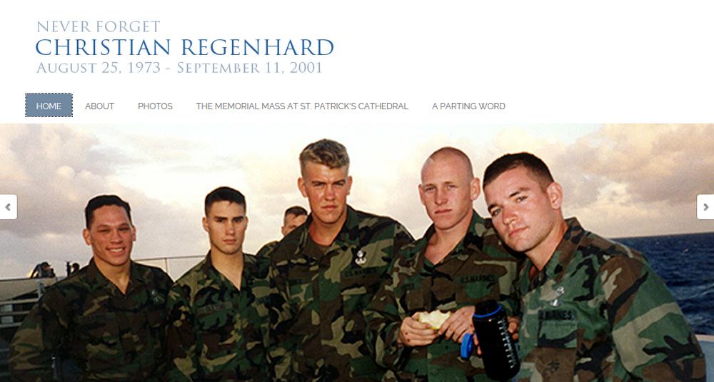 Never Forget Christian Regenhard