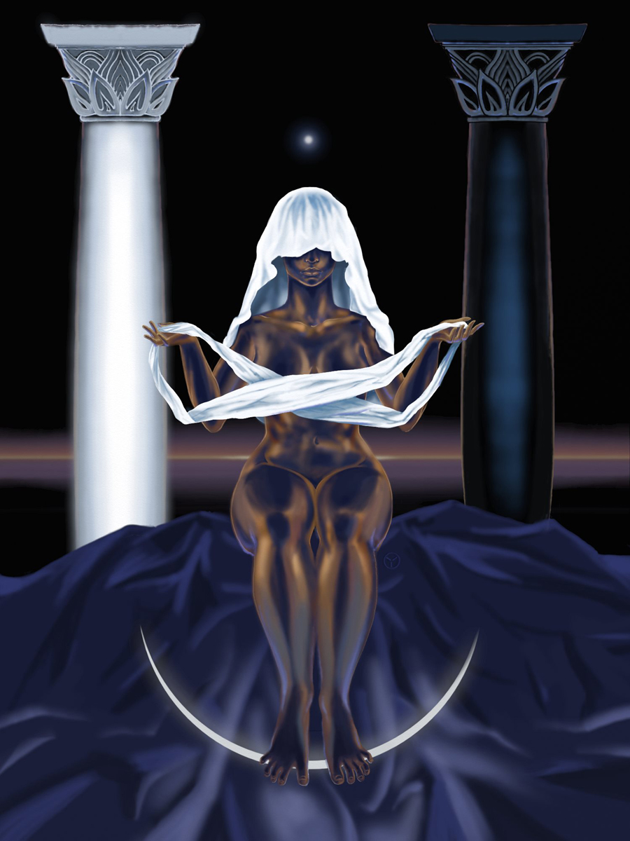 The Black Priestess