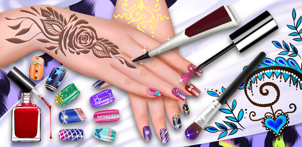 Henna & Nail Beauty SPA Salon  Manicures are always so much fun. Try out Nail and Henna Salon to see how many different hand and nail designs you can create! Can you come up with a fun and contemporary design to wow your friends?