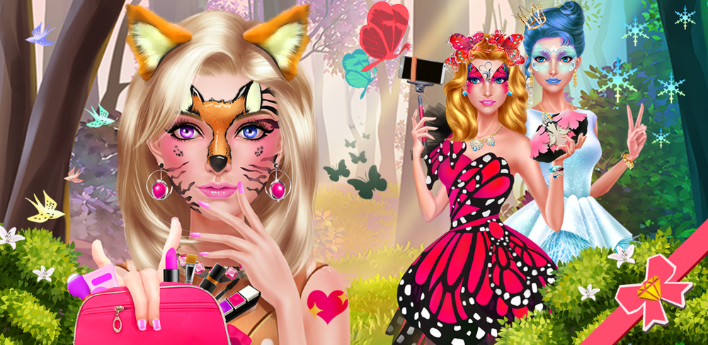 Face Paint Beauty SPA Salon 2  Face Paint is back with MORE and PRETTIER designs! Unleash your creativity NOW!