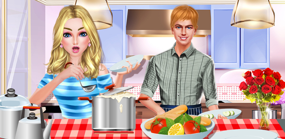 Sweet Date - Romantic Dinner  Dress up and cooking with your lover! Enjoy the FABULOUS candle light dinner NOW