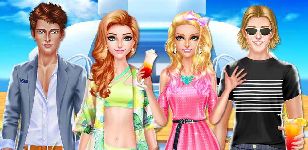 Luxury Boat Party! Girls Salon  Your summer holiday has finally gotten here! What better way to celebrate than going to a party on a luxury yacht? It's time for some fun on a boat trip with all your friends!
