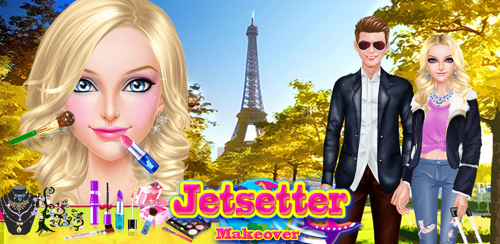 Jetsetter Life: Worldwide SPA  Time to travel around the world in luxury! Time to be a cool jetsetter celebrity, living in luxury and wearing beautiful dresses and gorgeous makeup!