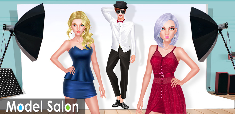 Fashion Family: Sibling Models  In this beautiful family, both the boys and girls are super models! To prepare for their show tonight, the brother and sister need your help to dress up and be stars on the run way!