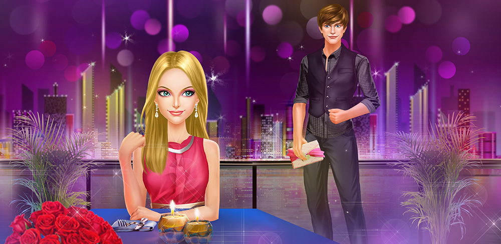 First Date: Fashion Couple Salon  OMG! He did it! He noticed me! We're finally going on a date! I can't believe we're finally going out, but now that the day is finally here, my excitement is giving me butterflies.