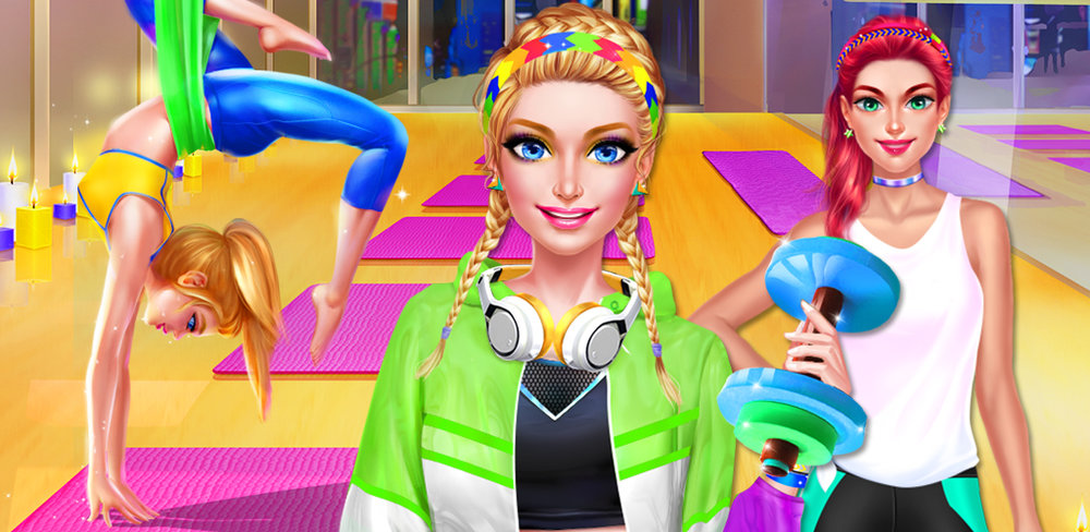 Fit Girl - Workout Beauty Spa  The New Year is here and it's time to get fit after all that delicious holiday food! Get ready for a fun gym workout with your BFF in this exciting game.