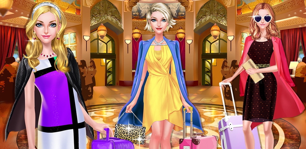 BFF Salon - Luxury Spa Hotel  Weekend is coming! Go to the glamorous hotel & enjoy SPA & MAKEUP with your BFF!