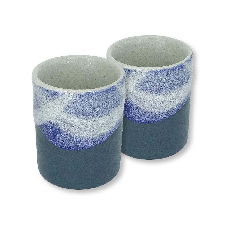 Japanese Tea Cup Blue Elephantstones Gallery