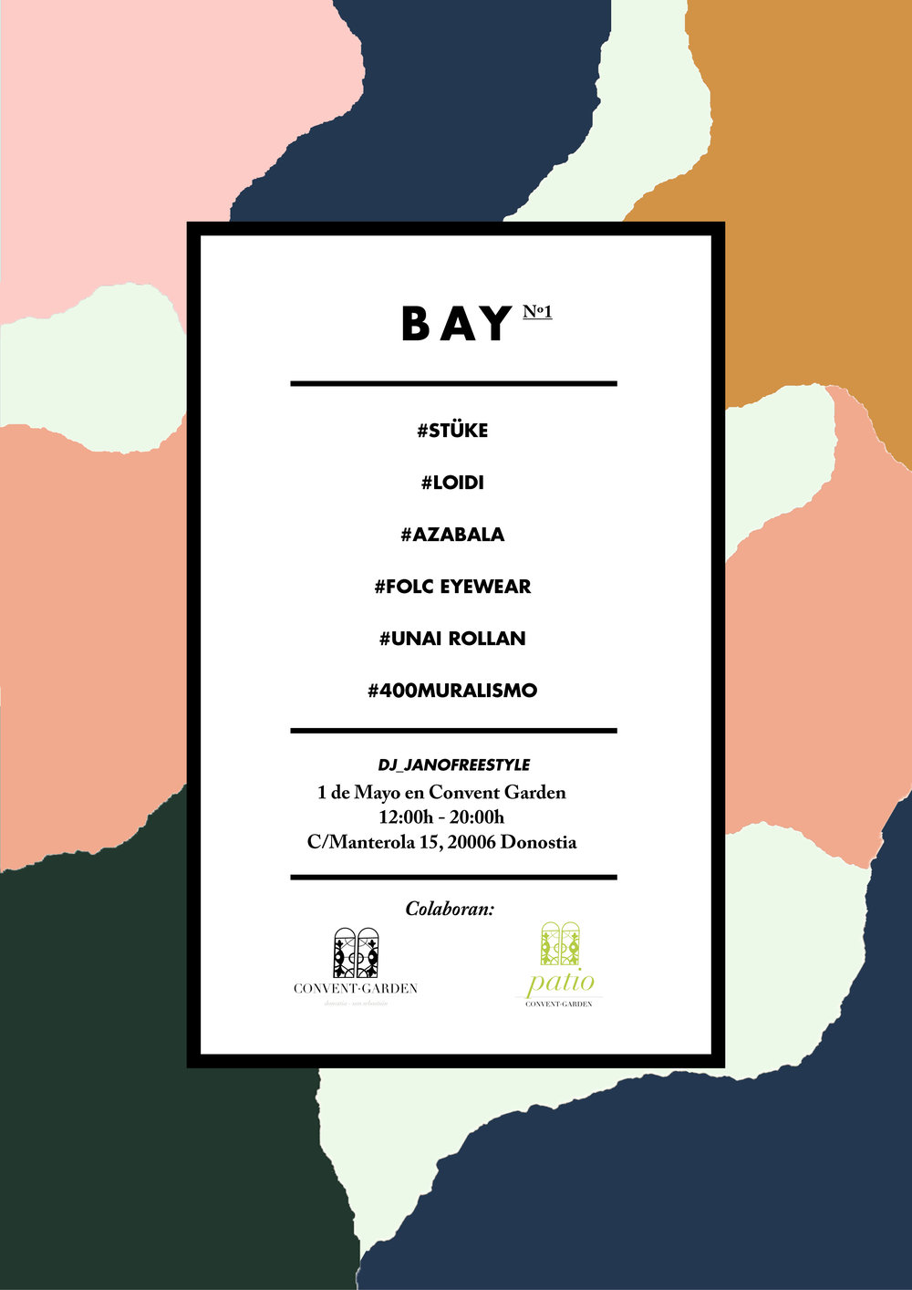 BAY TRADE SHOW - Location: Convent Garden C/Manterola 15 20006 San Sebastián.More info folc@folc-eyewear.com