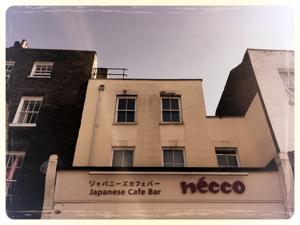 Japanese Cafe  nécco  on Exmouth Market
