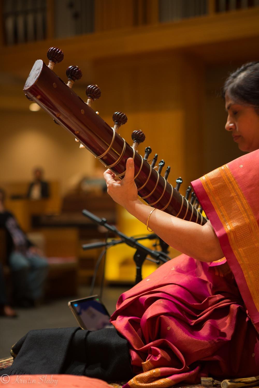 Anupama performing at Darbar