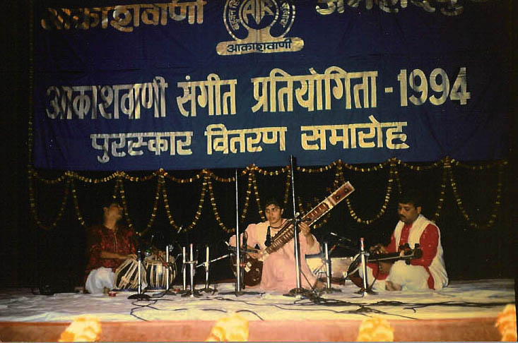 Anupama at music competiton 1994