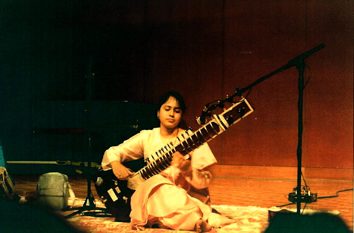 Anupama Performing a the Wright State University, Daton (OH)