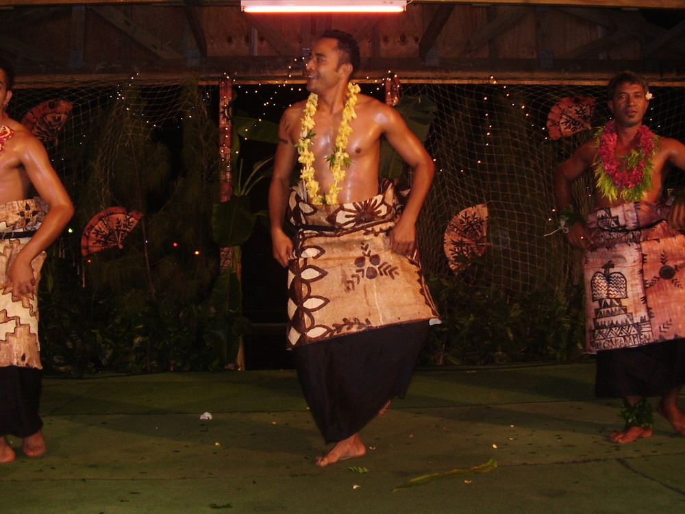 Pic: Traditional Tongan Dance Show
