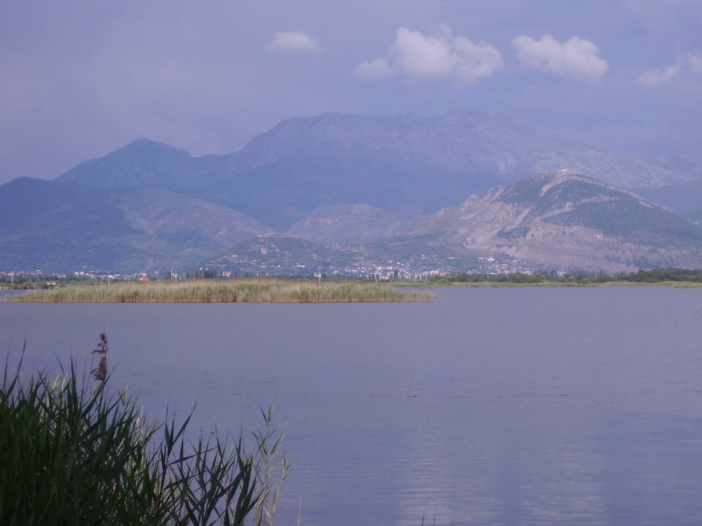 Pic: View from the restaurant, Kune-Vain-Tale Reserve, Lezhë County