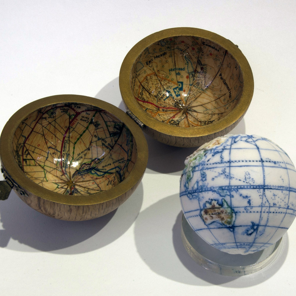 Land and Sea Globe Bespoke Map Case.jpg