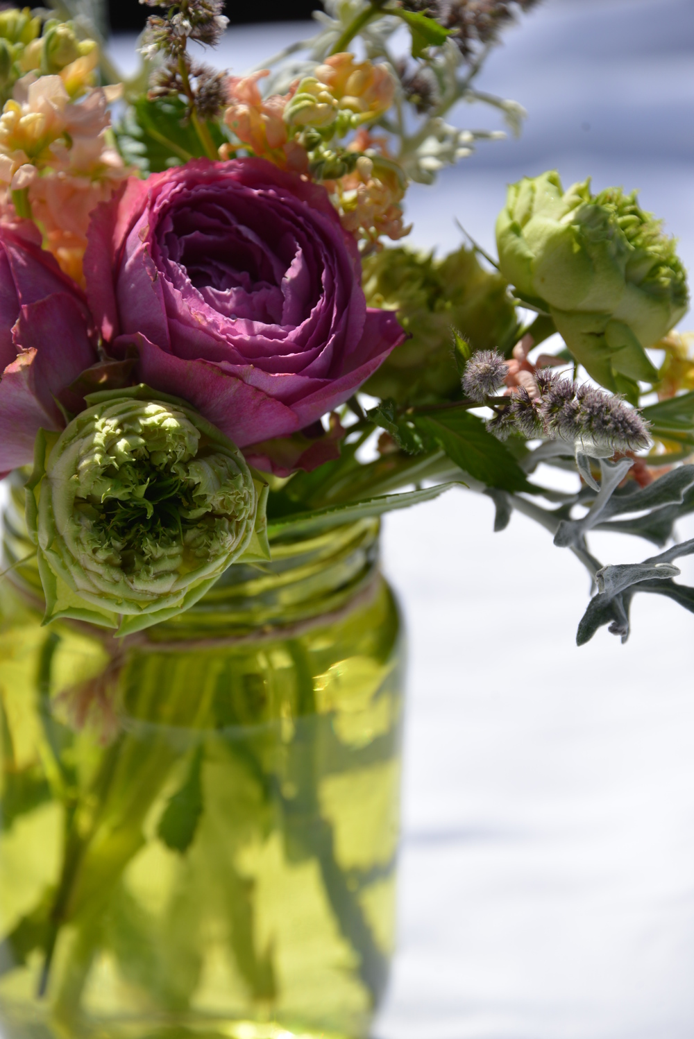 Micro flowers are a top trend from New York where smaller is so much cooler.