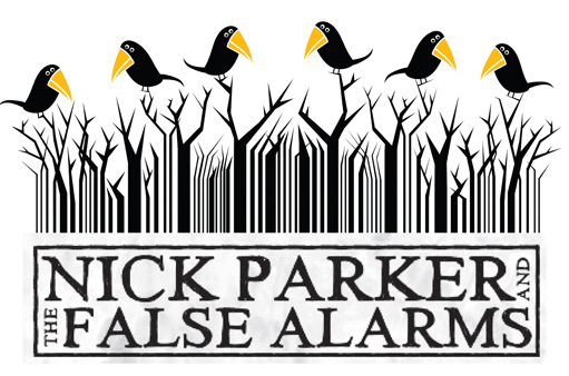 Nick Parker and the False Alarms logo.jpg