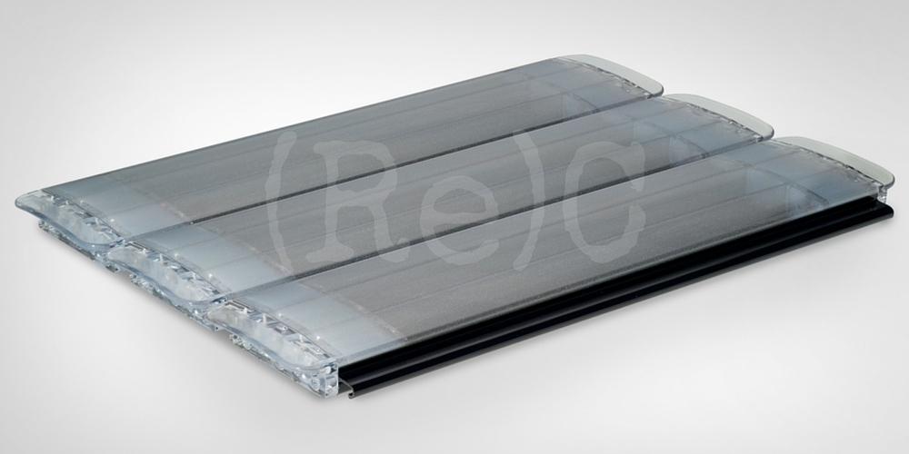 63.PC.34SF Polycarbonaat Anti-Alg Anti-Condens Silver Finishing