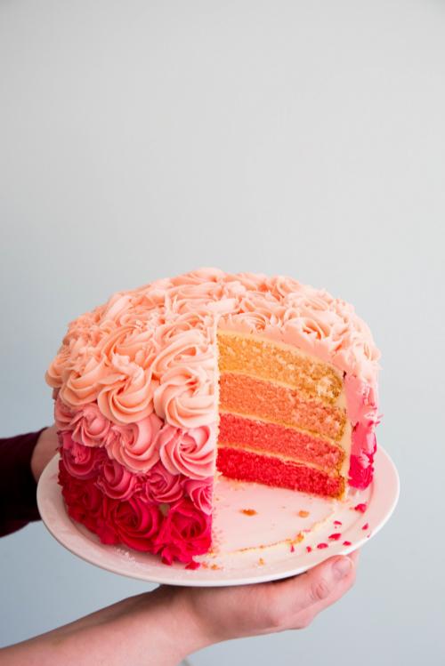 Buttercream Icing For Rose Cake
