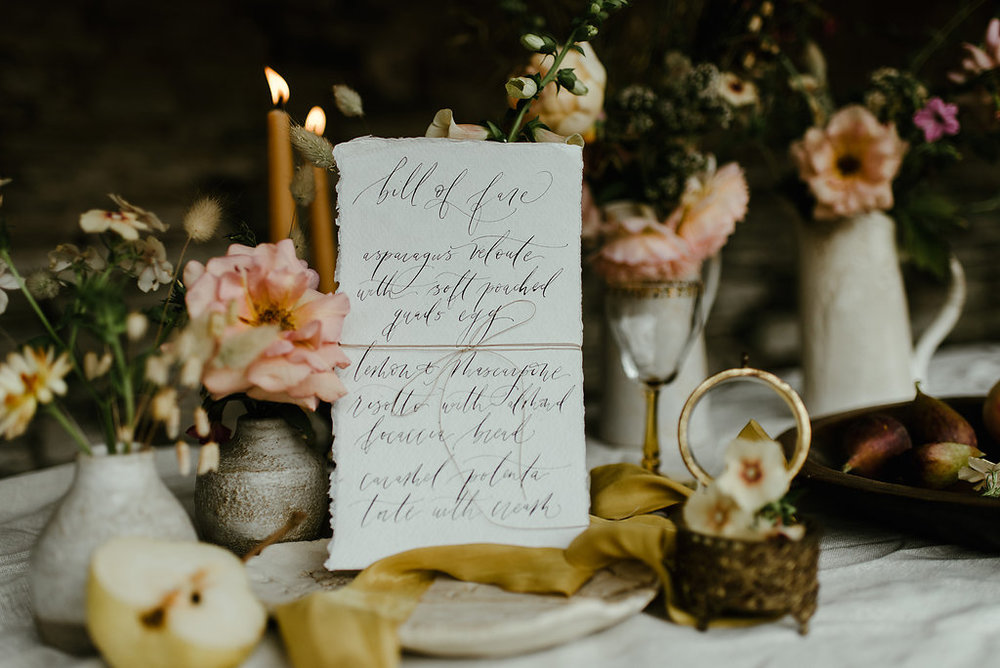 fine art stationery modern calligraphy and photography - based in scotland serving brand and brides around the world