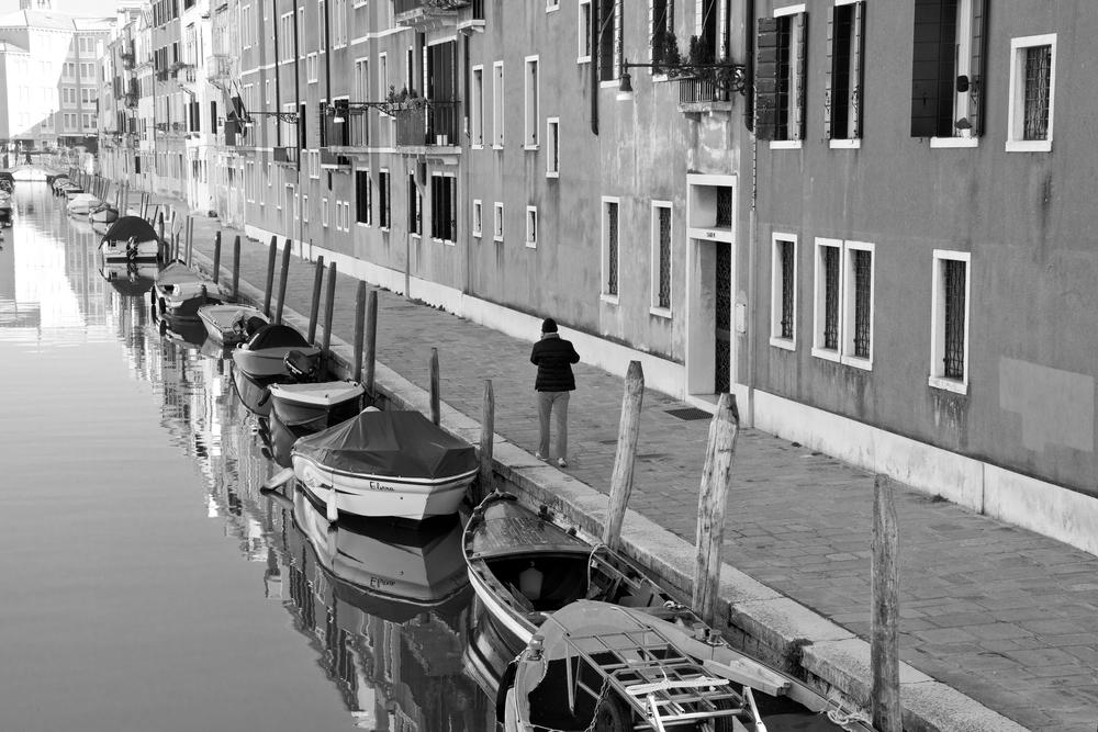 Copy of Black and White Venice