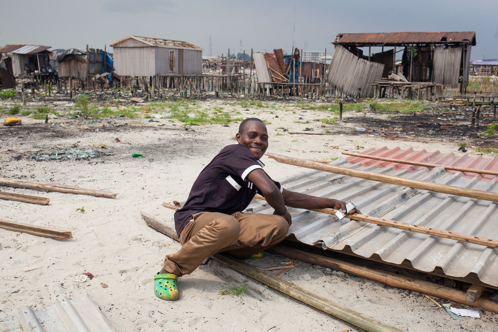 Despite the evictions, residents have quickly set about rebuilding their homes and continuing their struggle against land-grabbing.
