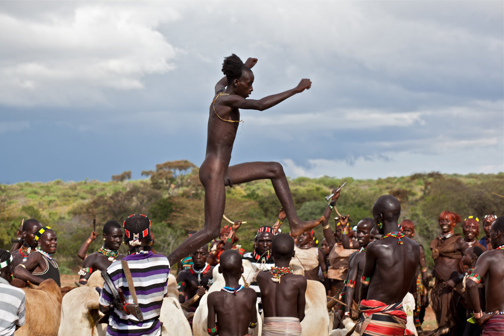 Bulljumping in the Omo Valley