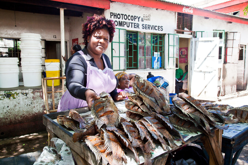 The market traders of Kisumu